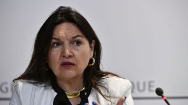 Marie-Christine Marghem lors d'un point presse en août dernier à Bruxelles.