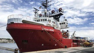 Le bateau-ambulance affrété par l'ONG SOS Méditerranée, qui a mis en place un strict protocole pour éviter la propagation du coronavirus à bord.