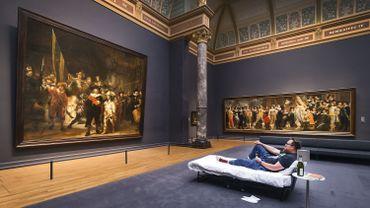 Un Néerlandais passe la nuit dans un musée seul avec un chef-d'oeuvre de Rembrandt