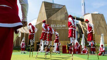 Inauguration du Pavillon Belge en juin 2015
