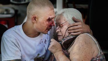 Les bombardements sur Donetsk continuent, dans l'est de l'Ukraine