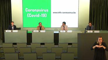 La conférence de presse a lieu à 11 h ce lundi 18 mai.