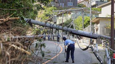 Japon: deux personnes meurent de chaud suite au passage du typhon Faxai