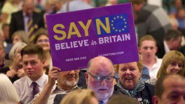 Brexit? Les eurosceptiques pas convaincus par les propositions de Tusk