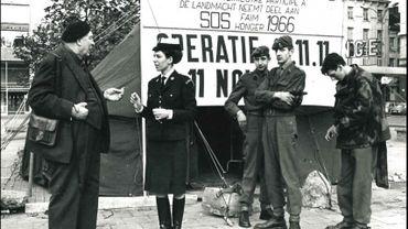 Une image de la première opération 11.11.11 retrouvée dans les nombreuses archives du CNCD