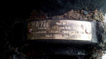 Découverte d'un sous-marin allemand de 14-18