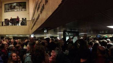 Gare centrale à 17h30