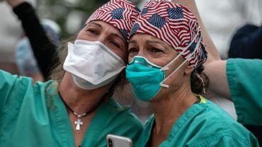 Coronavirus aux Etats-Unis: plus de2000 morts en 24heures, une première depuis 3 mois