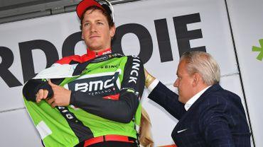Küng va se battre pour son maillot de leader du Tour du Benelux