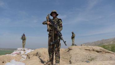 Soldat dans la province de Baghlan.