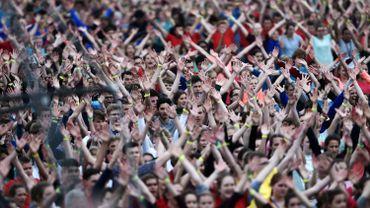 275 jeunes chrétiens quittent Battice pour participer aux JMJ en Pologne