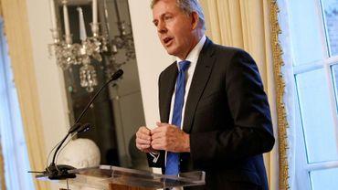 L'ambassadeur américain à Washington Kim Darroch lors d'une réception à l'ambassade, le 18 janvier 2017 à Washington