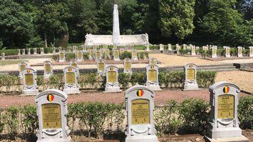 163 plaques de bronze y avaient été volées: le cimetière militaire a retrouvé son lustre d'antan