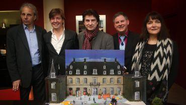 Nick Rodwell, Cedric Monnoye, Francois de Carpentries, Eric Lederhandler and Sara Roces Buelga