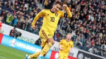 Diables Rouges : Eden Hazard élu devant Kompany et De Bruyne comme joueur le plus emblématique de l'histoire