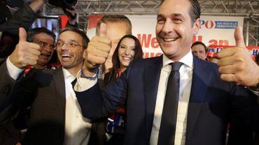 Heinz Chrisitian Strache, le leader du parti d'extrême-droite, veut bousculer la scène politique après les législatives