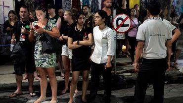 """Quelque 200 touristes """"indonésiens et étrangers"""" ont déjà quitté les trois îles de Gili."""
