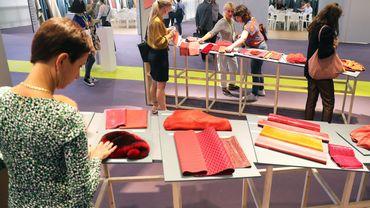 Première Vision, le salon de la filière mode organisé du 17 au 19 septembre à Villepinte, au nord de Paris.