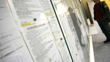 À la fin de 2017, il y avait 487.291 chômeurs indemnisés en Wallonie, selon un rapport de l'Onem