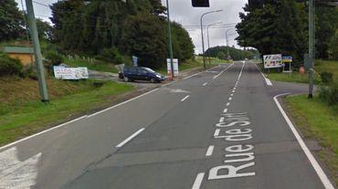 L'incident s'est produit sur la route de Sart, à Francorchamps, à proximité de la bretelle d'accès à la E42.