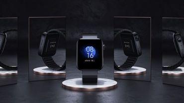 La première montre connectée de Xiaomi s'inspire fortement de l'Apple Watch