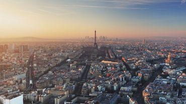 Vue panoramique de Paris.