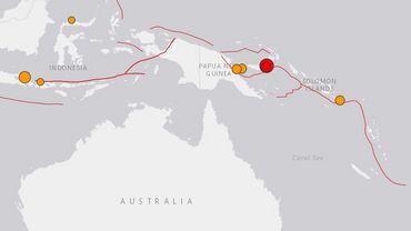 Séisme de magnitude 7 en Papouasie-Nouvelle-Guinée