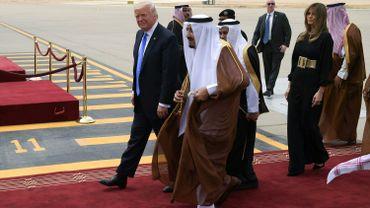 Donald Trump est arrivé à Ryad pour son premier voyage à l'étranger