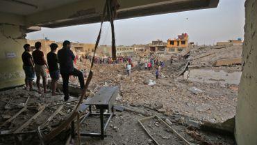 Explosion à Sadr City