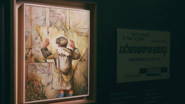 Un peintre et survivant de l'Holocauste ouvre son musée à Vilnius