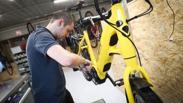 Les 5,8 millions d'euros comprennent les achats de vélos ordinaires comme électriques.