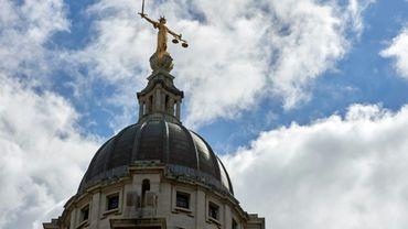 Le dôme du tribunal d'Old Bailey, le 21 août 2016 à Londres