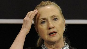 La secrétaire d'Etat Hillary Clinton à Bruxelles le 5 décembre 2012