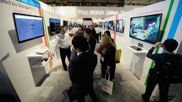 Des TV connectées (ici au Consumer Electronics Show de Las Vegas) peuvent être prises en otage par des cyberpirates.