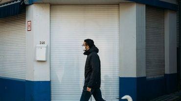 BLACK FRIDAY: Ce photographe immortalise les vitrines fermées des commerçants bruxellois