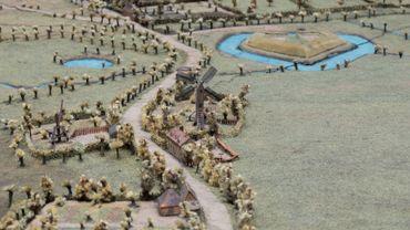 Plan relief de Ypres