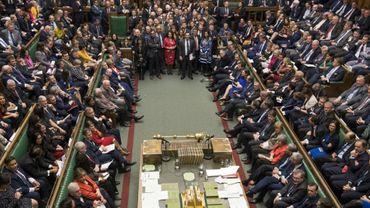 La Chambre des communes attend le résultat du vote sur le Brexit, le 12 mars 2019