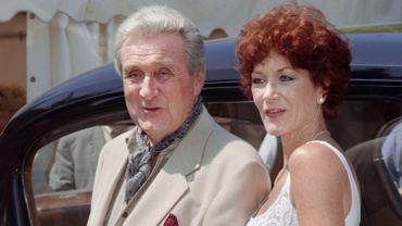 """Patrick Macnee et Linda Thornson, respectivement John Steed et Tara King dans """"Chapeau melon et botte de cuir"""""""