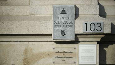 L'église de scientologie de Bruxelles. Un procès a eu lieu fin 2015.