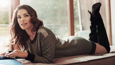 L'actrice et mannequin britannique Kelly Brook imagine une nouvelle collection pour New Look.