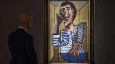 Christie's retire de la vente un autoportrait de Picasso, accidentellement endommagé