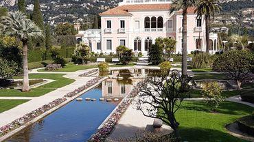 Les jardins de la Villa Ephrussi de Rothschild à Saint-Jean-Cap-Ferrat