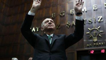 Recep Tayyip Erdogan, président de la Turquie.