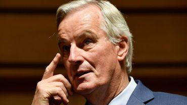 Le négociateur du Brexit pour l'Union Européenne, Michel Barnier, le 15 octobre 2019 à Luxembourg
