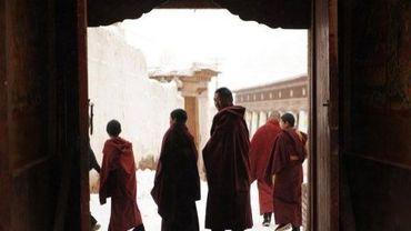Des moines tibétains dans un monestère en Chine, en 2012