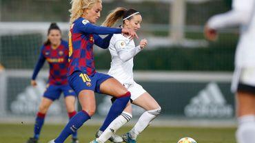 """Le premier """"clasico"""" Real-Barça féminin aura lieu ce dimanche"""