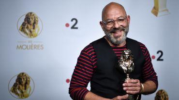 Christian Hecq récompensé aux Molières 2020