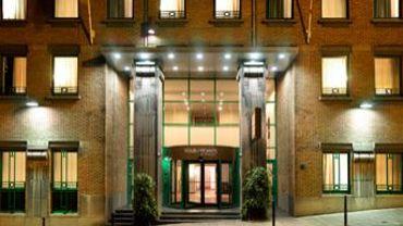 Parmi les sept hôtels bruxellois qui ont reçu le label: le Four Points by Sheraton