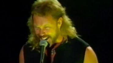 Metallica en 1994 à Mountain View en Californie