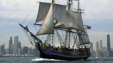 Le HMS Bounty victime de Sandy